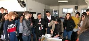 Avrupalı öğrencilere Türk kültürü ve folkloru sunuldu
