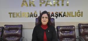 Tekirdağ AK Parti İl Kadın Kolları Başkanı Ünal istifa etti