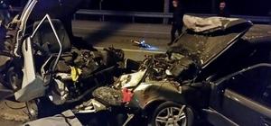 Düzce'de trafik kazası: 2 ölü, 6 yaralı