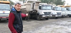 Samsun'da park halindeki 4 tırın aküsü çalındı
