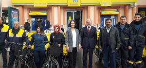 PTT Erzincan'da Araç Filosunu Güçlendiriyor