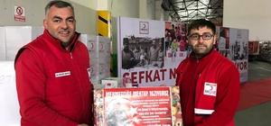 Türk Kızılayı'ndan Afrinde'ki sivillere giyecek yardımı