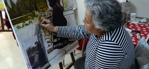 Resim yapma hayaline emeklilikten sonra kavuştular