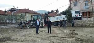 Başkan Duymuş'tan yapımı devam eden tesisi ziyaret