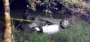 Muğla'da otomobil devrildi: 1 ölü