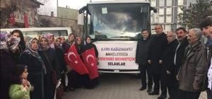 Kağızmanlı kadınlardan Zeytin Dalı operasyonuna anlamlı destek