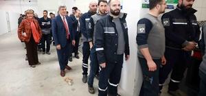 """Başkan Karaosmanoğlu, """"Hizmet götürmek için kendimizle yarışıyoruz"""""""