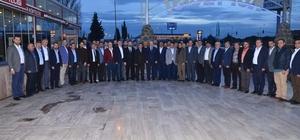 Başkan Kafaoğlu iş adamlarıyla buluştu