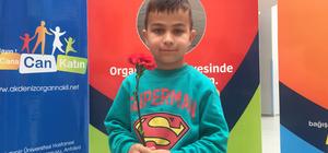 Nakille hayat bulan küçük Mesut'tan organ bağışı çağrısı