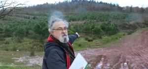 İzmit'te ormanlık alana yapılacak atık yakma tesisine tepki
