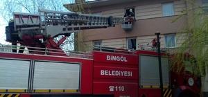 ingöl'de yangın ve kurtarma tatbikatı