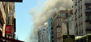 Diyarbakır'da giyim mağazasında yangın