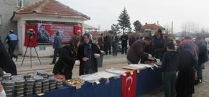 Kızılören'de Mehmetçiğe destek kermesi