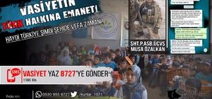 Afrin şehidinin vasiyeti için SMS kampanyası