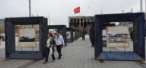 Taksim'de ''Fotoğraflarla Çanakkale Zaferi'' sergisi