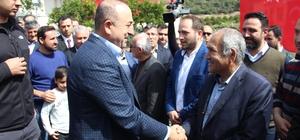 Bakan Çavuşoğlu Alanya'da şehit uzman çavuş için okutulan mevlide katıldı