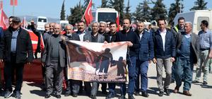 Şehit ve gazi ailelerinden Zeytin Dalı Harekatı'na destek