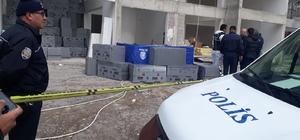 13'üncü kattaki iskeleden düşen inşaat işçisi hayatını kaybetti
