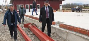 Samsun'daki besi bölgesi yatırımcı bekliyor