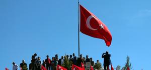 Elazığ'da Zeytin Dalı Harekatı'na Türk bayraklı destek