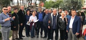 AK Partili'ler Çanakkale'ye gitmek üzere yola çıktı