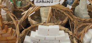 Şanlıurfa'da eşek sütüyle yapılan sabunlara ilgi