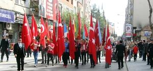 Çanakkale Zaferi'nin yıl dönümünde gelen Afrin zaferi Kilislileri sokağa döktü