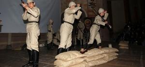 Nevşehir'de Çanakkale Zaferi'nin 103.yıldönümü ve Şehitler Günü töreni düzenlendi.