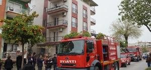 Aydın'da yangın, dumandan etkilenen 7 kişi hastaneye kaldırıldı