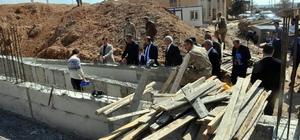 Birecik'te 8 taziye evi ve 9 okulun yapılması için çalışma başlatıldı