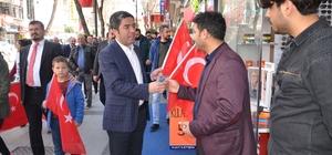 CHP'den vatandaşlara Türk Bayrağı