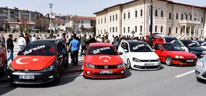 Sivas'ta 'Zeytin Dalı Harekatı'na destek konvoyu