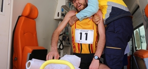 Batman'daki yarı maratonda bazı atletler baygınlık geçirdi