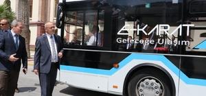 Elektrikli otobüsler Manisa'nın trafiğini rahatlatacak