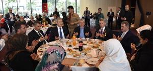 Sağlık Bakanı Demircan şehit aileleri ve gazilerle yemek yedi