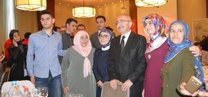 Şehit aileleri, gazi ve korucuların Afrin sevinci