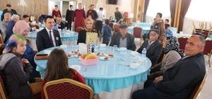 Altıntaş'ta, Şehit ve Gazi Ailerine ''Çanakkale Zaferi'' kutlmalarında yemek verildi