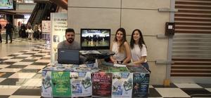 67 Burda AVM'de latin dansı tanıtım standı açıldı