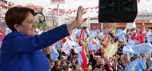 İYİ Parti Genel Başkanı Akşener, Balıkesir'de: