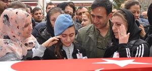 Afrin şehidi Binbaşı Dunca, Eskişehir'de toprağa verildi