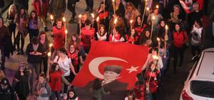 Samsun'da ADD'den fener alayı yürüyüşü