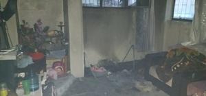 Alanya'da ev yangını paniğe neden oldu