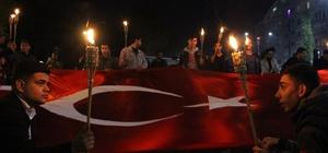 Elazığ'da Çanakkale Zaferi yürüyüşü