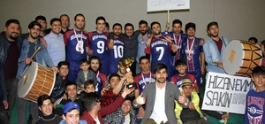 Hizan'da Futsal Turnuvası