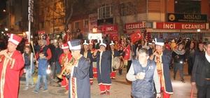 Kırıkkale'de Çanakkale Zaferi Fener Alayı ile kutlandı