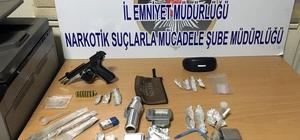 Kayseri'de uyuşturucu şüphelisine gözaltı