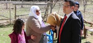 Kaymakam Doğramacı'dan şehit ailelerine ziyaret