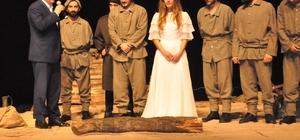 'Çanakkale Mahşeri' Kütahya'da da sahnelendi