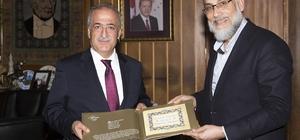 """Rektör Çomaklı: """"Filistin Bize Selahaddin Eyyubi'den Emanet"""""""