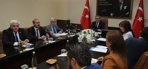 TBMM Madde Bağımlılığı Araştırma Komisyonu üyeleri Mersin'de